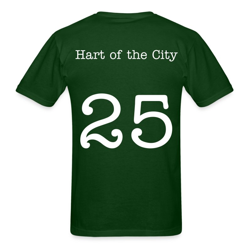 Joe Hart - 25 - Hart of the City - Men's T-Shirt