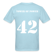 T-Shirts ~ Men's T-Shirt ~ Yaya Toure - 42 - Tower of Power