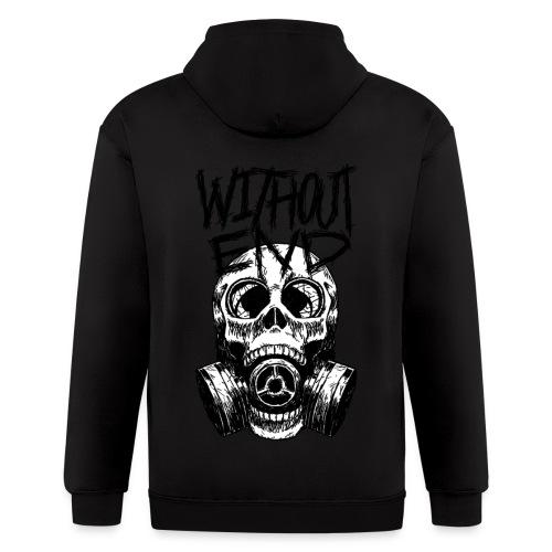 Malevolent Contraband/Waza.inc  - Men's Zip Hoodie