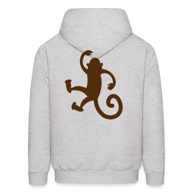 monkey dancing or hanging so cute! Hoodies