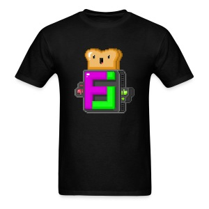 FJ Pixel Toast - Men's T-Shirt