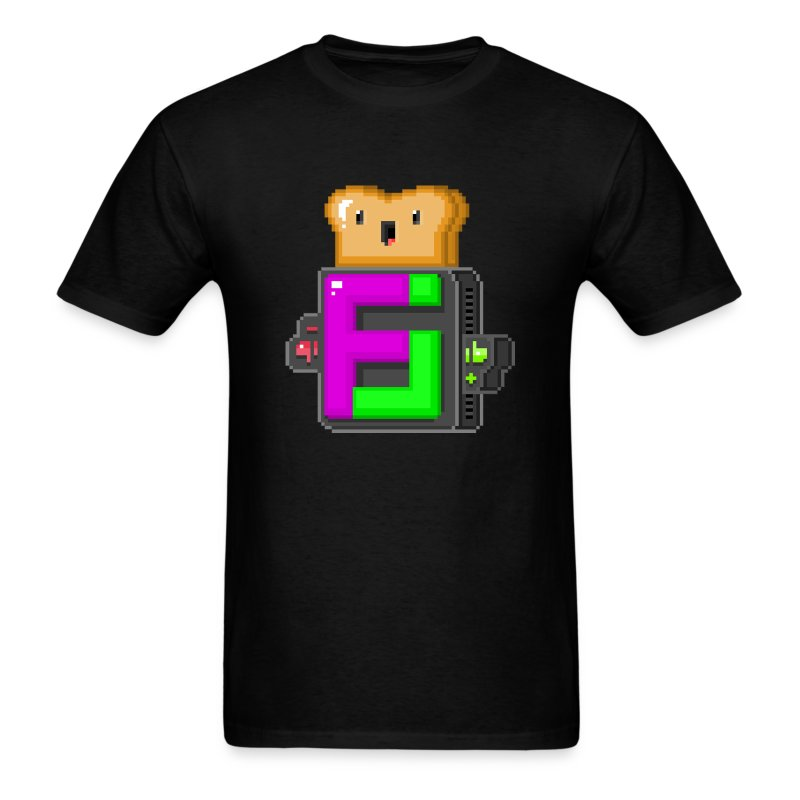 FJ Pixel Toast - Men's T-Shirt