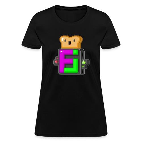 FJ Pixel Toast - Women's T-Shirt