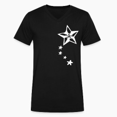 Cool  shooting stars Men's V-Neck T-Shirt by Canvas