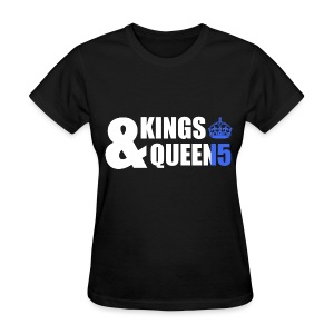 Class of 2015 - Kings & Queens (Blue without bands) - Women's T-Shirt