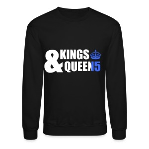 Class of 2015 - Kings & Queens (Blue without bands) - Crewneck Sweatshirt