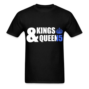 Class of 2015 - Kings & Queens (Blue without bands) - Men's T-Shirt
