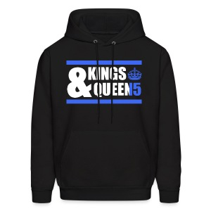 Class of 2015 - Kings & Queens (Blue with bands) - Men's Hoodie