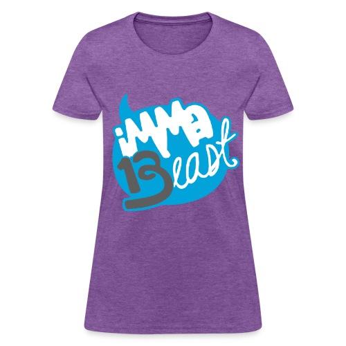 Class of 2013 - imma Beast (light blue)  - Women's T-Shirt