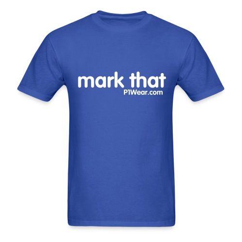 mark that - Men's T-Shirt