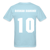 T-Shirts ~ Men's T-Shirt ~ Edin Dzeko - 10 - The Bosnian Diamond