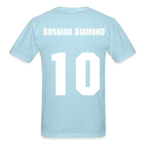 Edin Dzeko - 10 - The Bosnian Diamond - Men's T-Shirt
