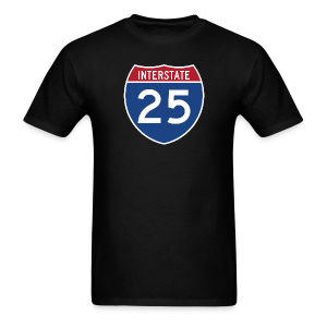 Interstate 25 - Mens - Men's T-Shirt
