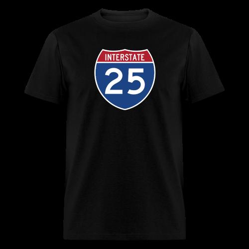 Interstate 25 - Mens - Men's T-Shirt