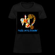 T-Shirts ~ Women's T-Shirt ~ Women's MUSIC ON MY SHOULDER T-Shirley for Charity