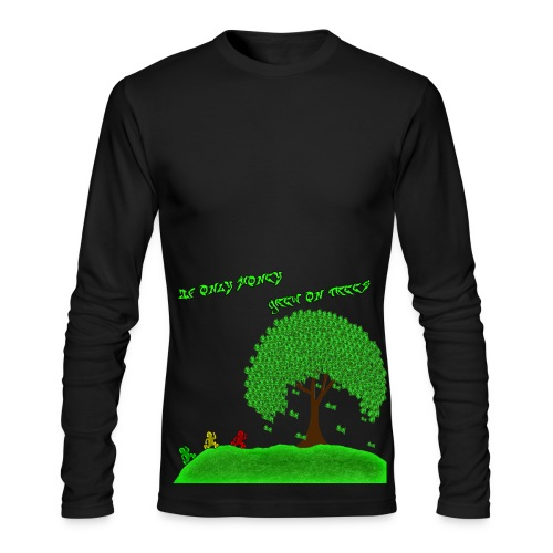 Money Tree - Men's Long Sleeve T-Shirt by Next Level