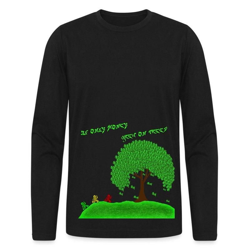 Money Tree - Men's Long Sleeve T-Shirt by Next Level