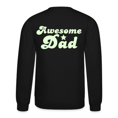 Awesome dad with a star Long Sleeve Shirts