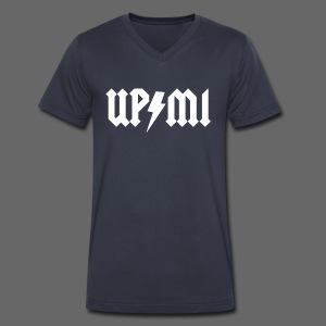 Da U.P. Rocks! - Men's V-Neck T-Shirt by Canvas