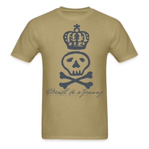 Death To Tyranny Tee - Light - Men's T-Shirt