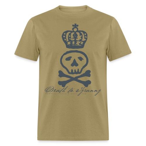 Death To Tyranny Tee - Light - Men's T-Shirt