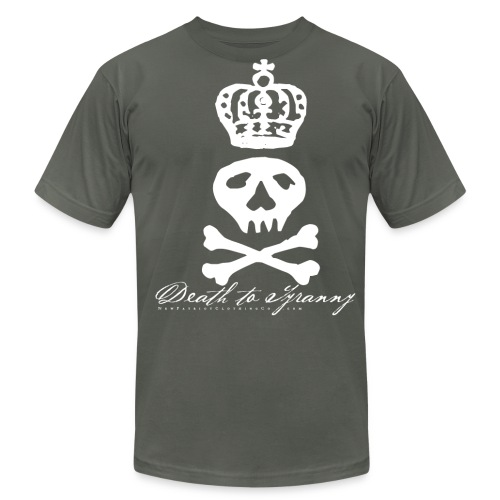 Death To Tyranny Tee - Dark - Men's Fine Jersey T-Shirt