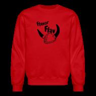 Long Sleeve Shirts ~ Crewneck Sweatshirt ~ Flavor Flav helmet