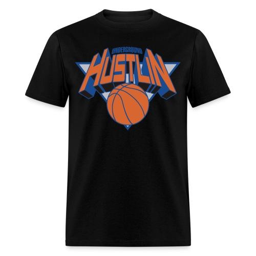 Underground Hustlin' and Ballin' - Men's T-Shirt