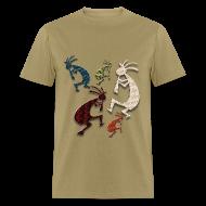 T-Shirts ~ Men's T-Shirt ~ Five Kokopelli