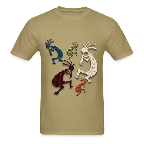 Five Kokopelli - Men's T-Shirt
