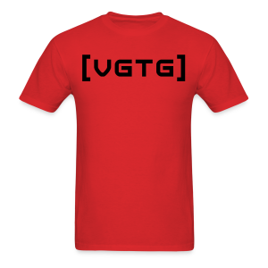 [VGTG]! Black (Front) Standard T - Men's T-Shirt
