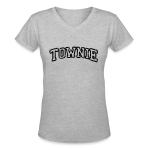 Townie - Women's V-Neck T-Shirt
