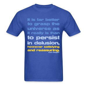 Carl Sagan - Grasp the Universe - Men's T-Shirt