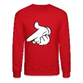Airgun Crewneck/Sweatshirt (Red)