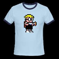T-Shirts ~ Men's Ringer T-Shirt ~ Mutant Mudds - Big Max