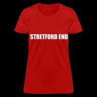Women's T-Shirts ~ Women's T-Shirt ~ Stretford End