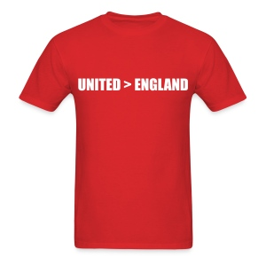 United better than England - Men's T-Shirt