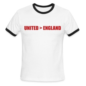 United better than England - Men's Ringer T-Shirt