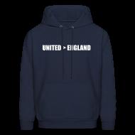 Hoodies ~ Men's Hoodie ~ United better than England