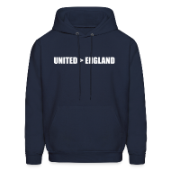 Hoodies ~ Men's Hoodie ~ United better than England
