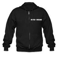 Zip Hoodies & Jackets ~ Men's Zip Hoodie ~ United better than England