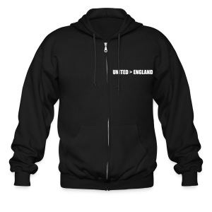 United better than England - Men's Zip Hoodie