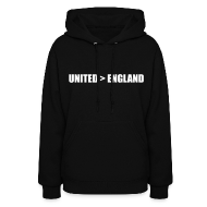 Hoodies ~ Women's Hoodie ~ United better than England