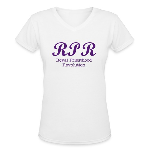 Royal Priesthood Revolution - Women's V-Neck T-Shirt
