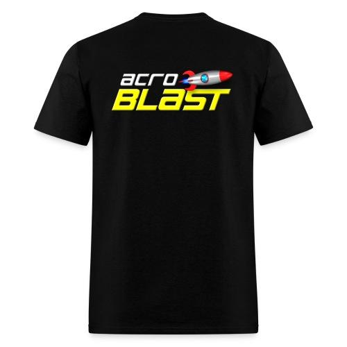 Acroblast Logo Black Lightweight - Men's T-Shirt