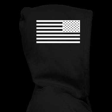 american flag BLVCK XVV BLVCK Zip Hoodies/Jackets