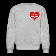 Long Sleeve Shirts ~ Crewneck Sweatshirt ~ One Heart Sweatshirt