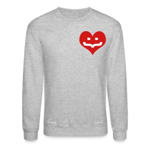 One Heart Sweatshirt - Crewneck Sweatshirt