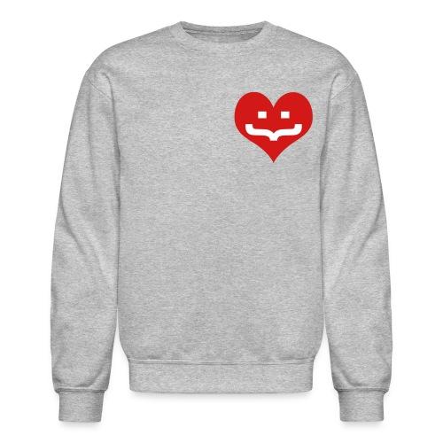 One Heart Sweatshirt - Crewneck Sweatshirt