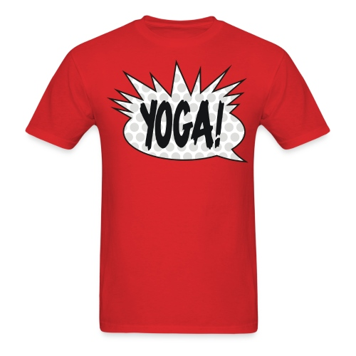 YOGA Raps - Men's T-Shirt